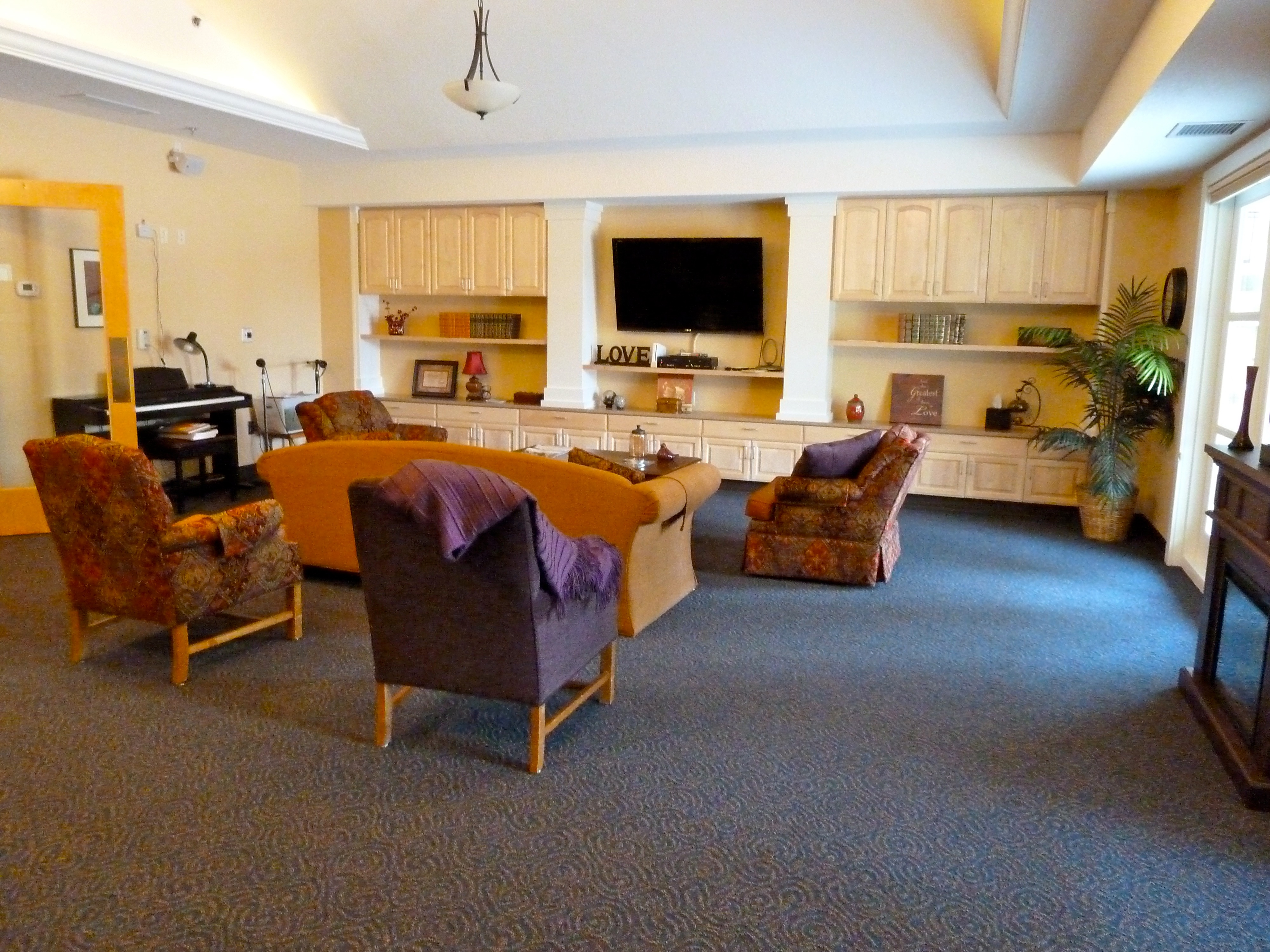 Building project completed wide horizon for The family room wheat ridge