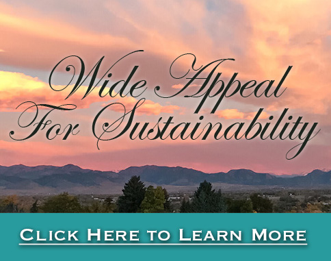 Wide Appeal for Sustainability - Click for more info