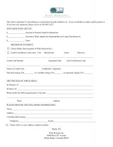 Print form for giving